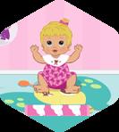 Baby Hazel Bubbles